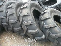 TWO 14.9x24, 14.9-24 JOHN DEERE FORD FARMALL Farm Tractor Tires 8 Ply
