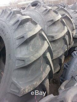 TWO 18.4x30 12 ply R 1 Tube Type Farm Tractor Tires Fit FORD DEERE