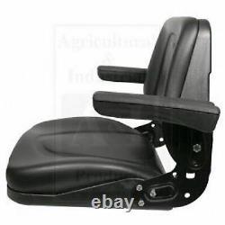 Tractor Seat Slide Track Flip Up Arms Massey Case Ih Ford Bobcat Zetor White