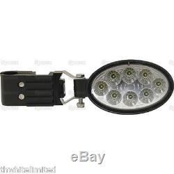 Tractor Universal Led Worklights For Grab Rail (pair) Ford Case Ih Massey (ff)