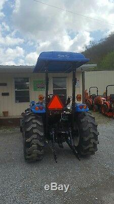 UNIVERSAL FORD, NEW HOLLAND LS, Tractor Canopy BLUE 45W X 60L Polyethylene