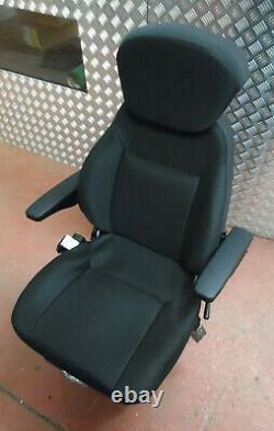 Universal Deluxe Mechanical Tractor Seat John Deere/New Holland Ford, Cloth